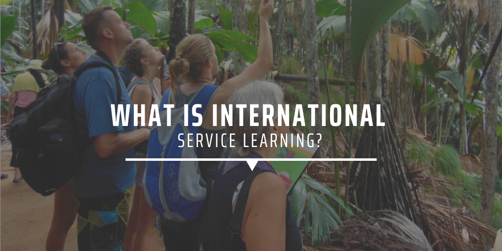 What is international service learning