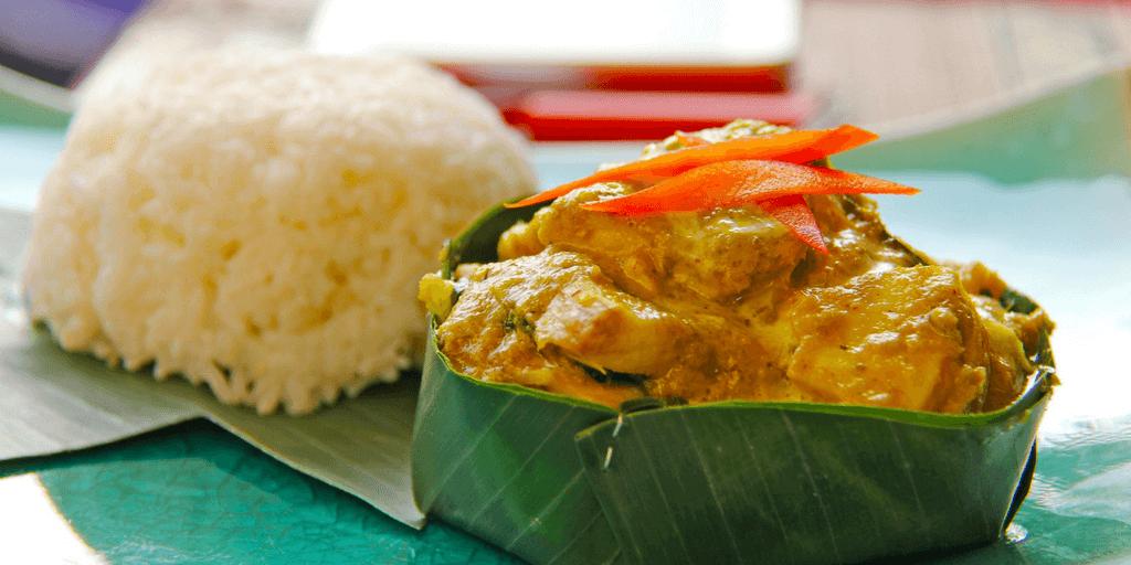 Taste Cambodian cuisine