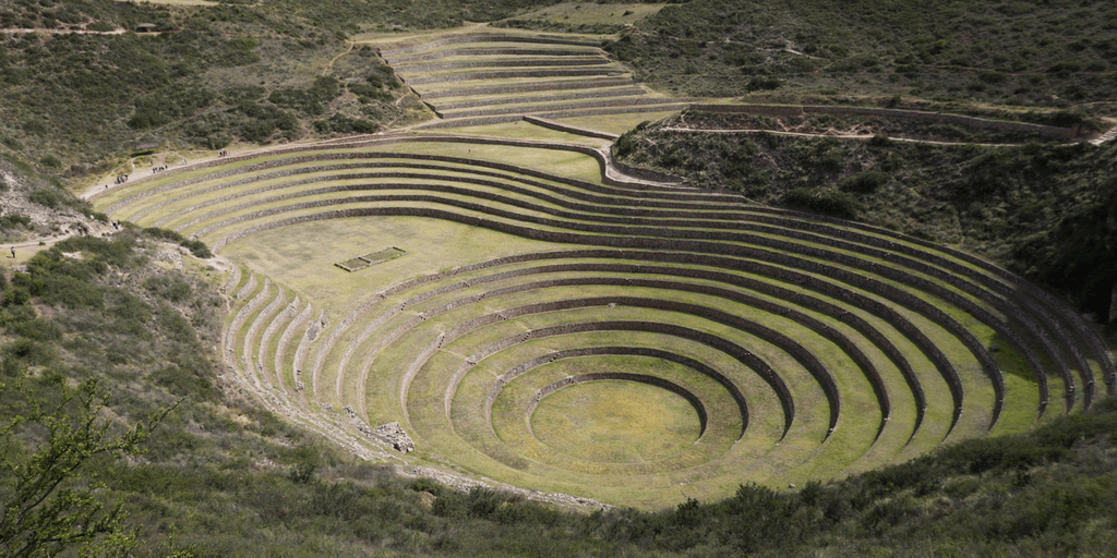 visit the ruins in Moray Cusco