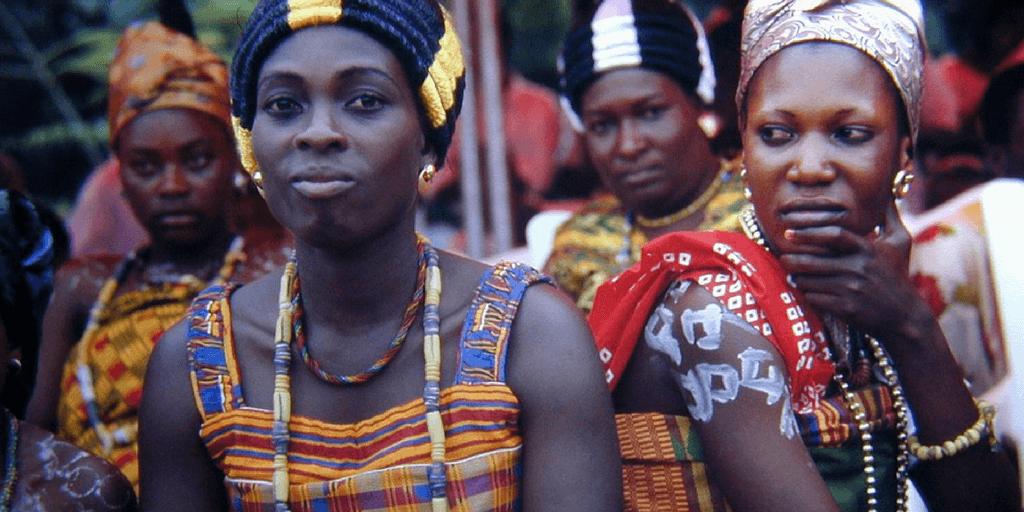 ghana woman culture dressing fashion