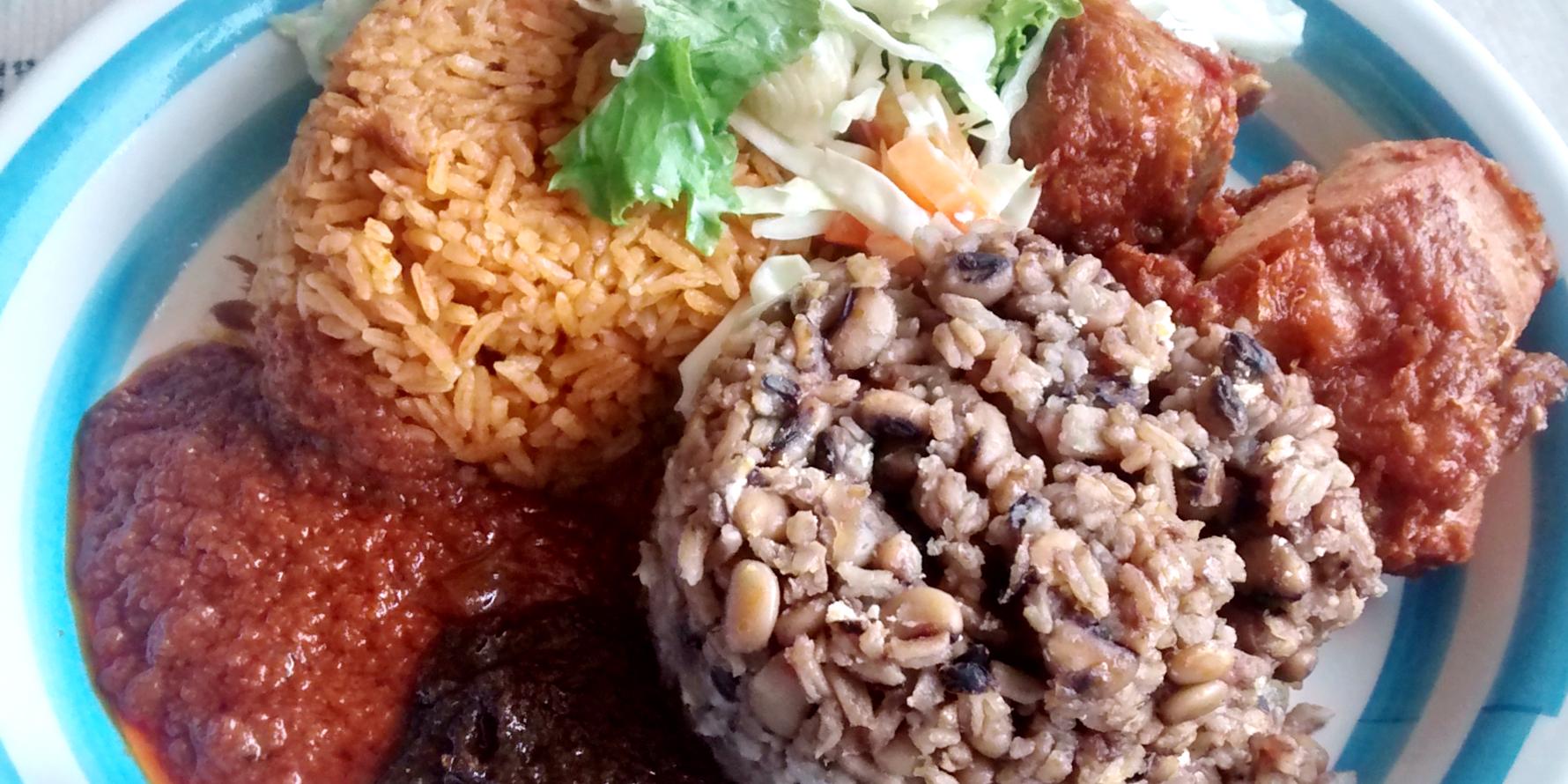 Traditional Ghanaian food