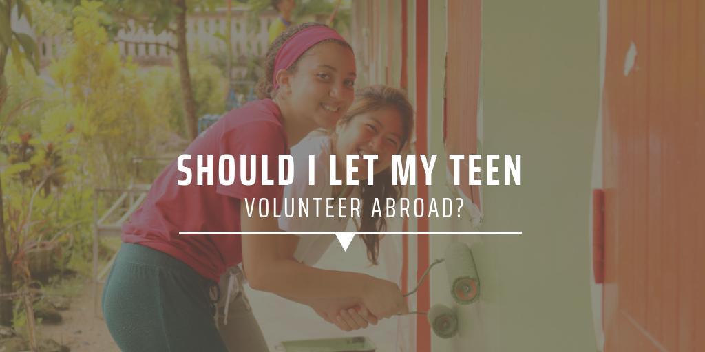 Under 18s volunteer programs