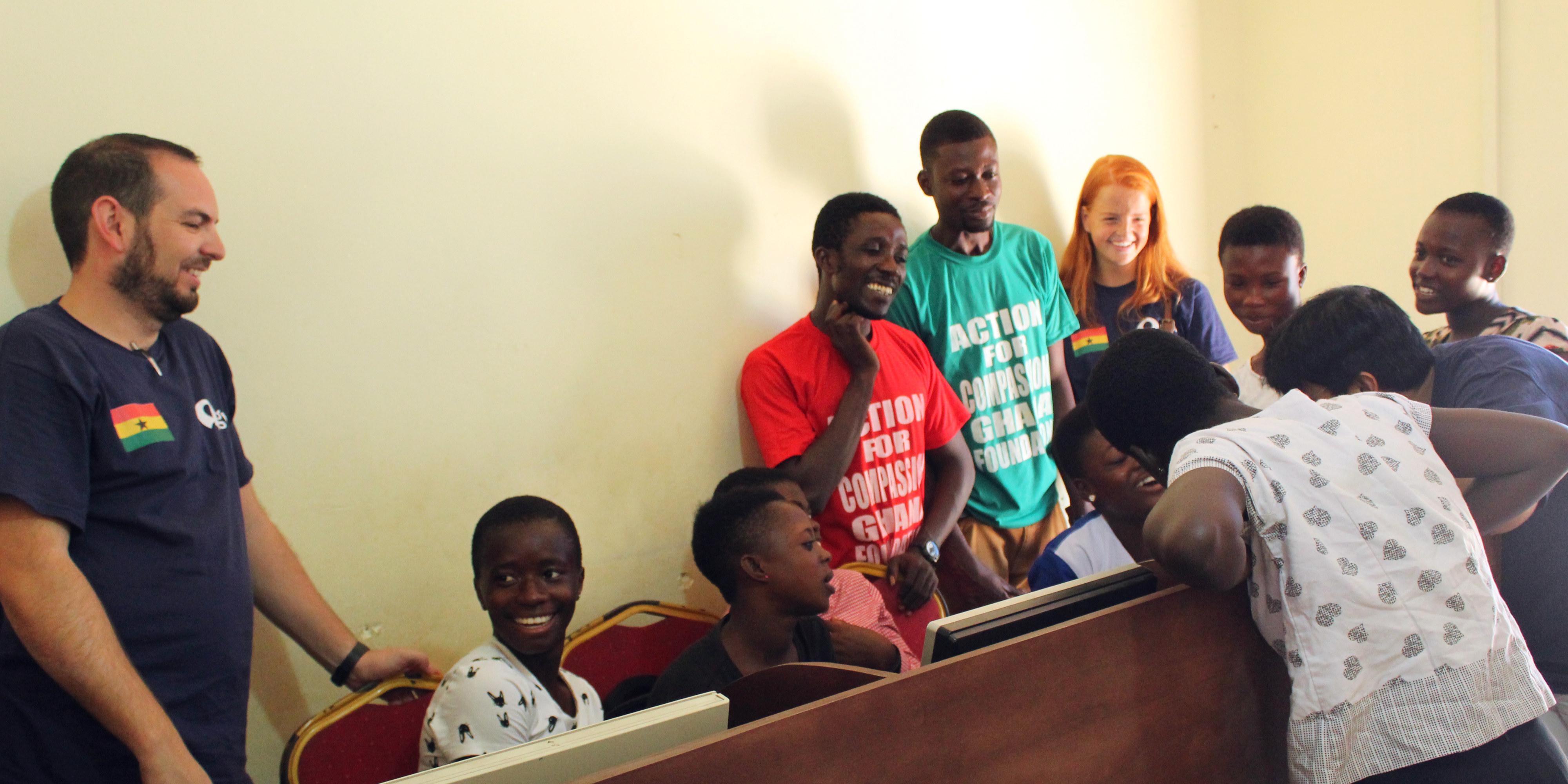 volunteer opportunities in accra ghana