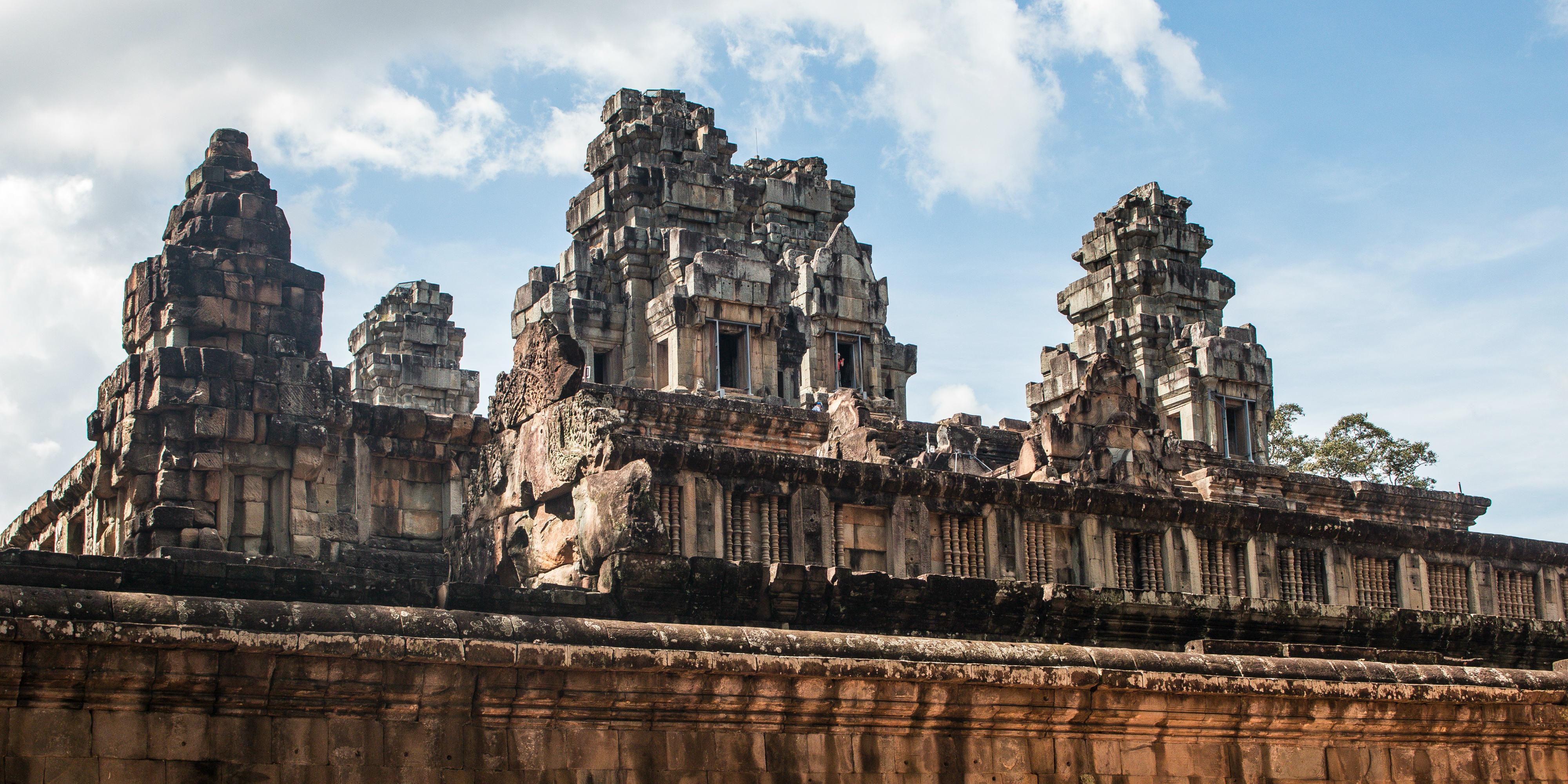 Visiting the Angkor Wat temples