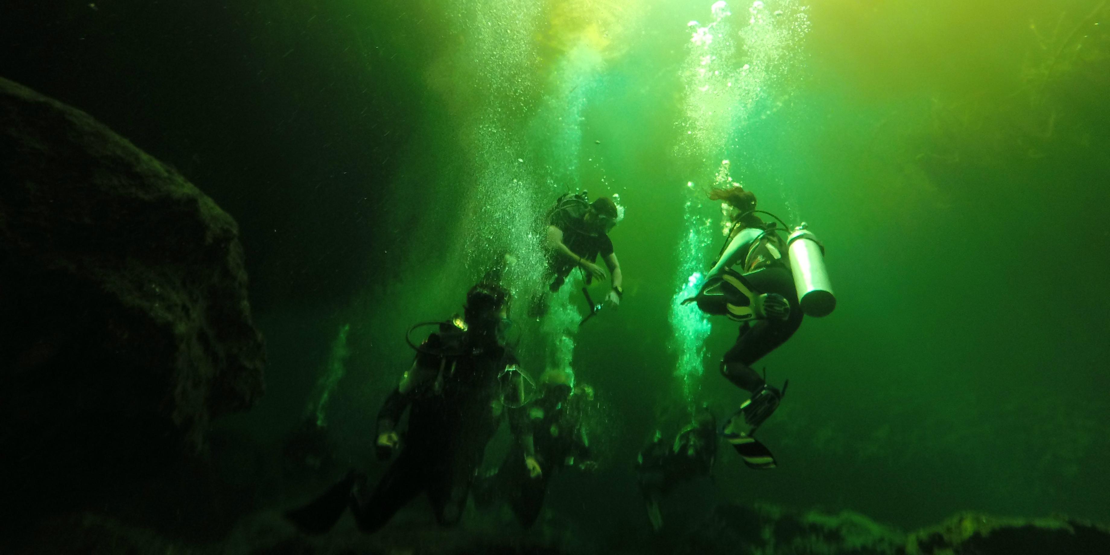 scuba diving mexico