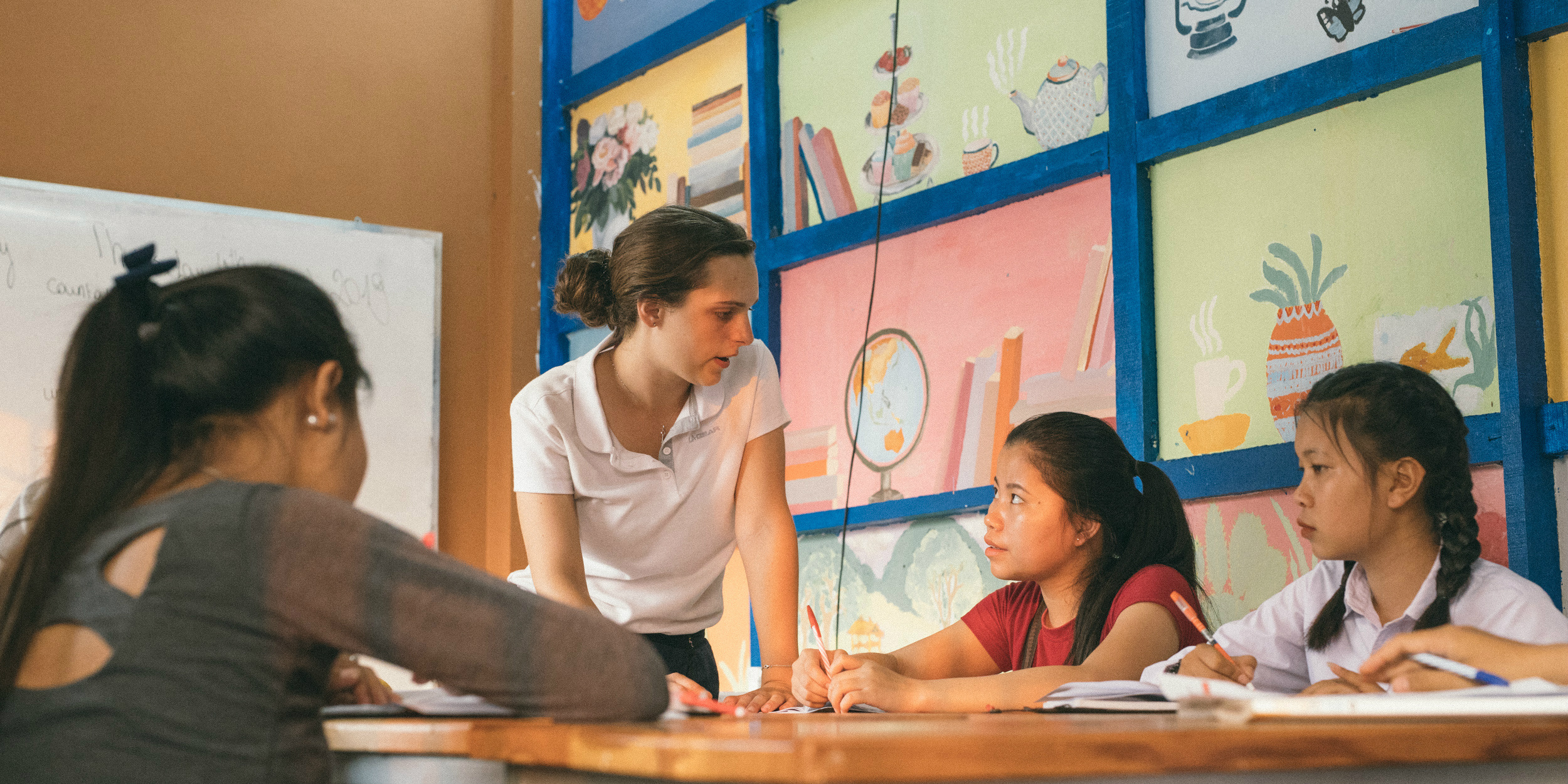 Learn a new language before travelling abroad to help you during your volunteer project.
