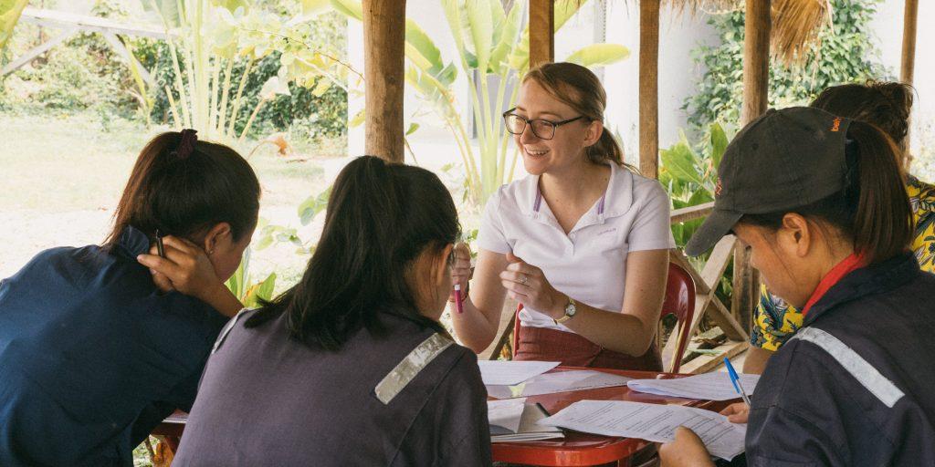 volunteer opportunities for teens in Laos