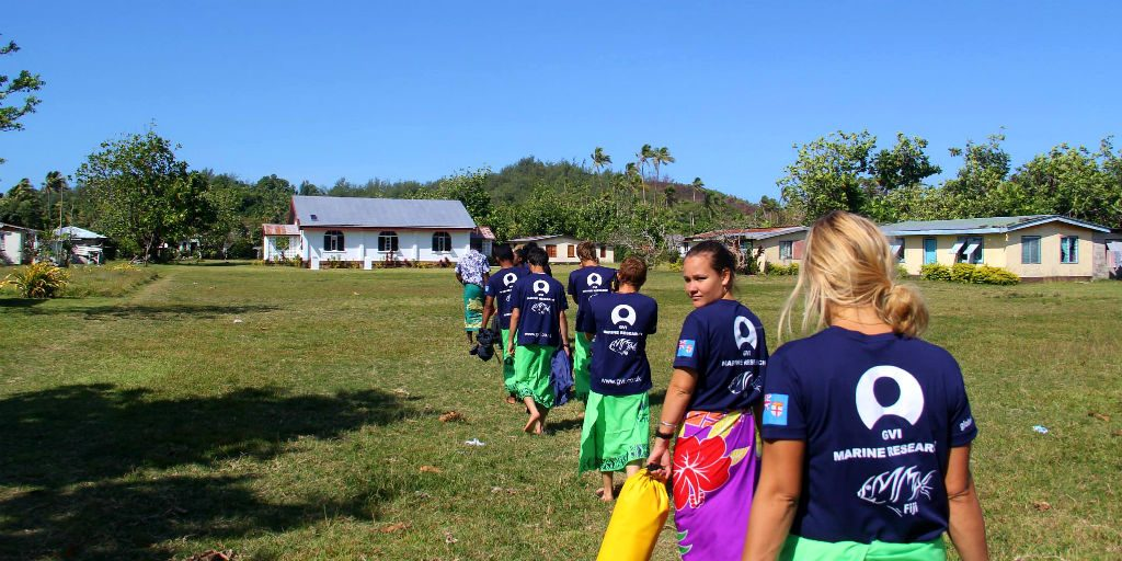 The teamwork and relationship between GVI voluteers and the locals is so important to create a maximum impact to the water and sanitation goals in Dawasamu, Fiji.