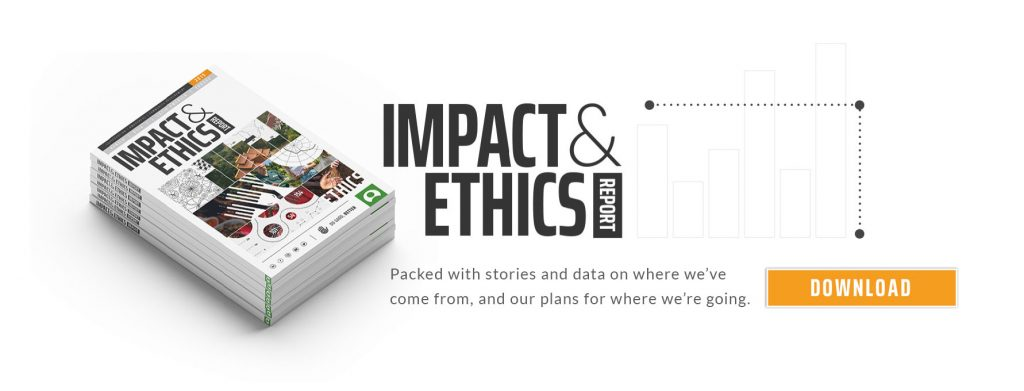 GVI impact and ethics banner image