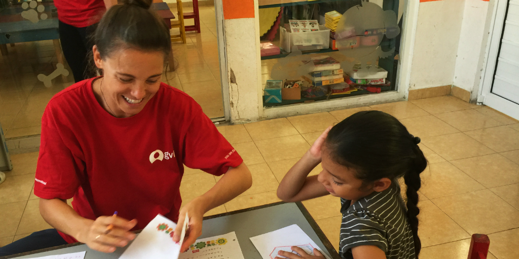 volunteer this holiday season with children at GVI