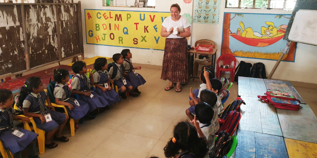 Make an impact when you travel by volunteering in India as a teacher