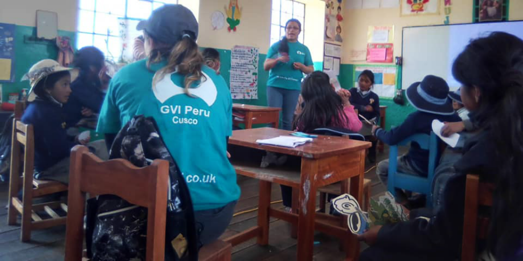 Volunteers in Cusco - one of the best places to visit in Peru