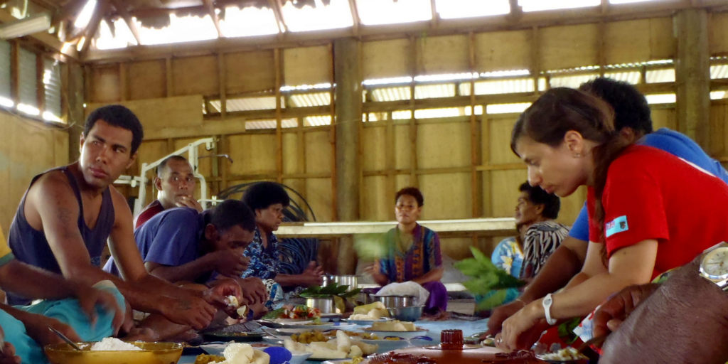 Experience Fiji's true flavours by sharing a meal with locals