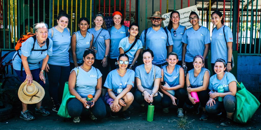 Learn to work with people in a team when you volunteer abroad.
