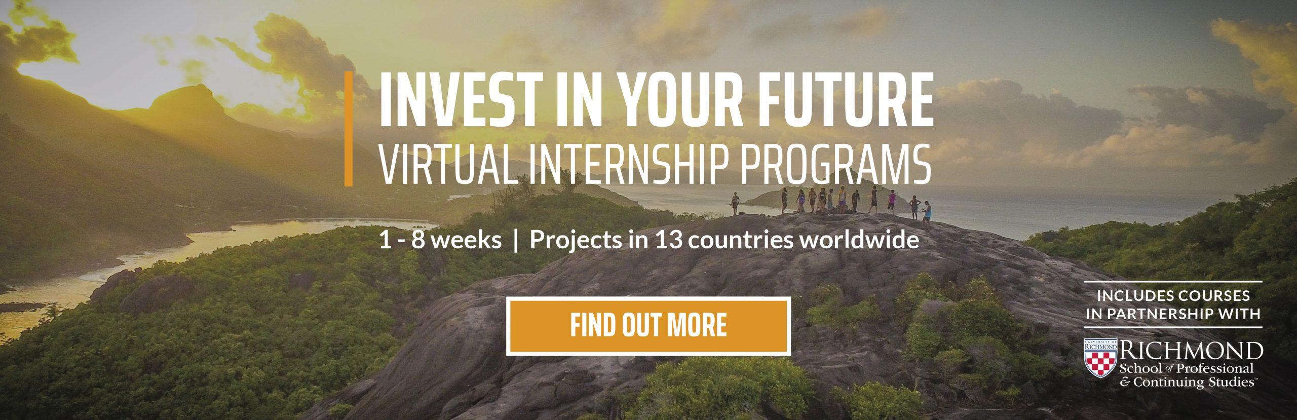 Virtual Internships May/Jun20