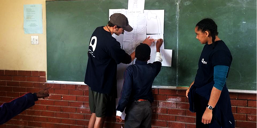 Volunteer in Cape Town and teach classes to children in local schools.