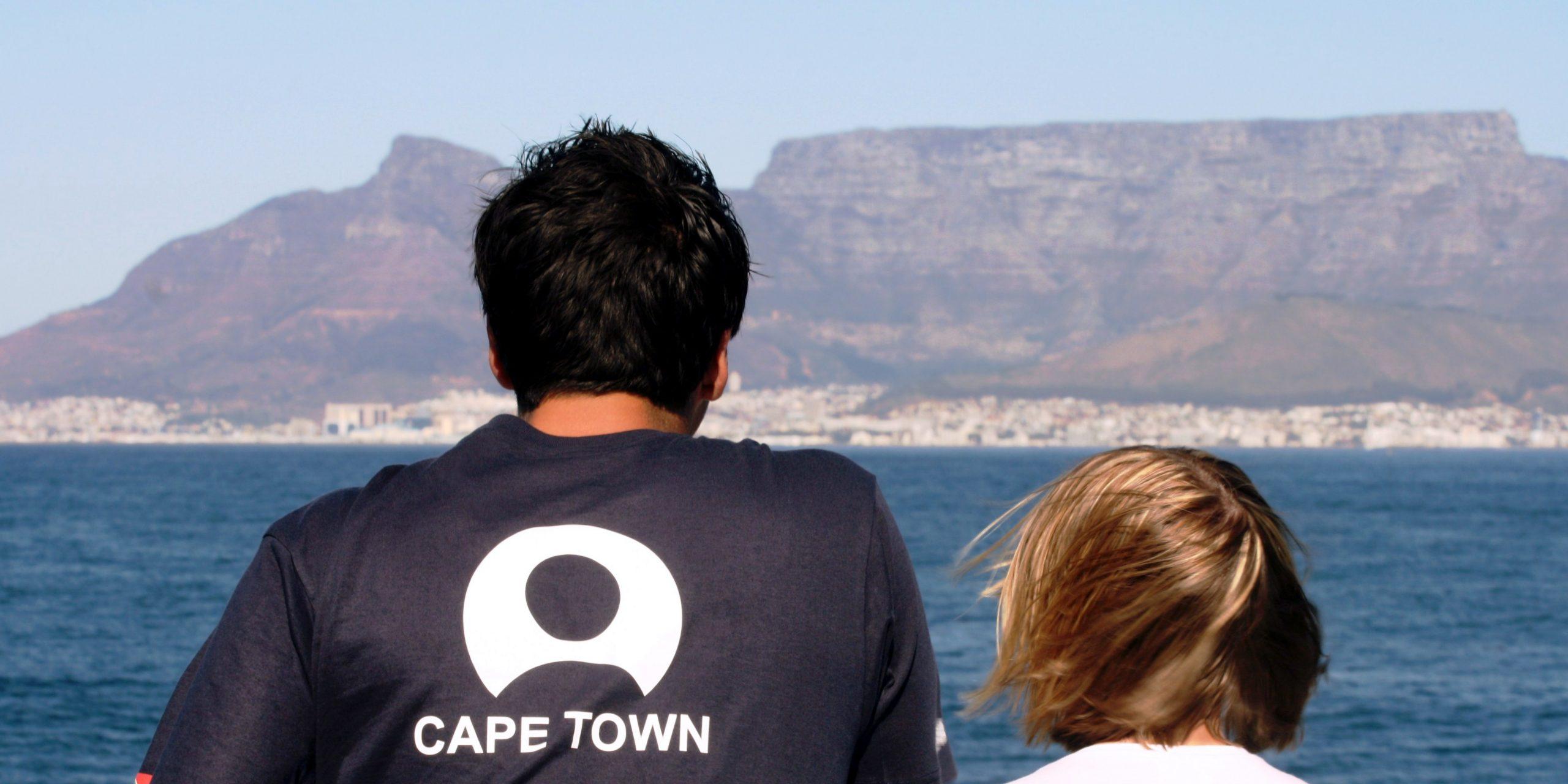 GVI participants visit Cape Town as part of a responsible travel program