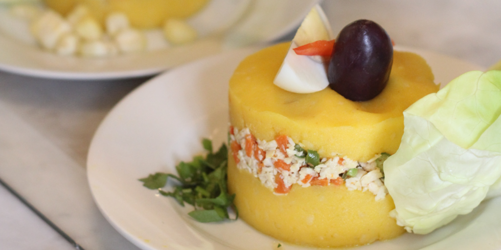 Causca is a sophisticated potato dish you need to try when you travel to peru