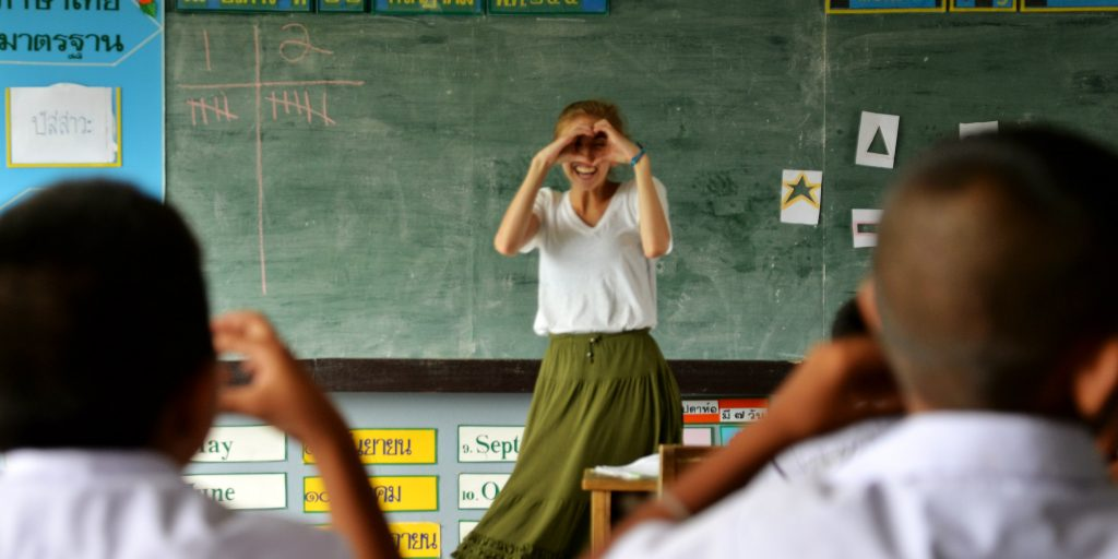 Join one of our volunteer teaching programs abroad.