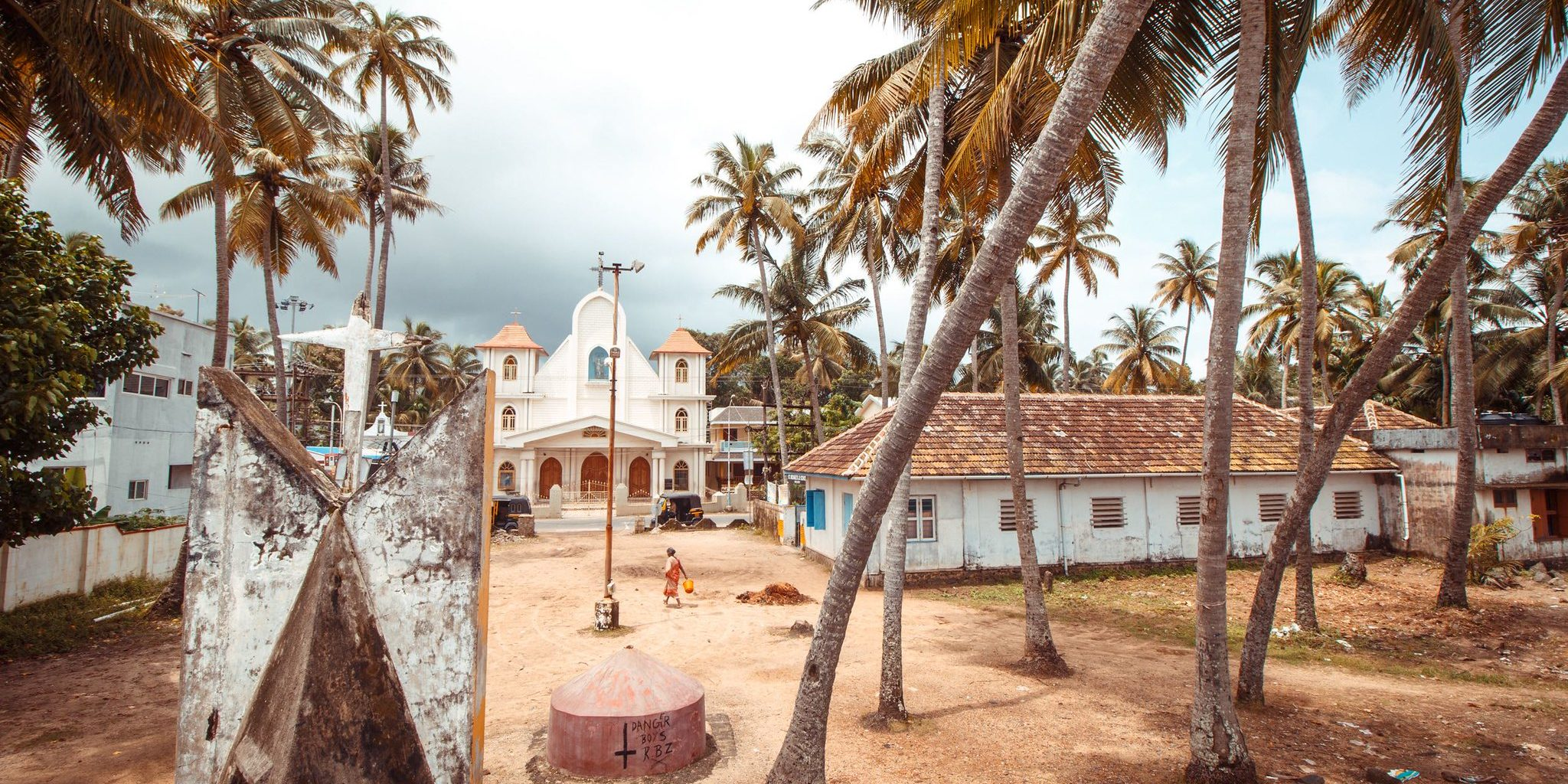 A shot of a site in Kochi. India, where GVI's women's empowerment programs are located